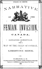 Alexander Somerville Narrative Of the Fenian Invasion